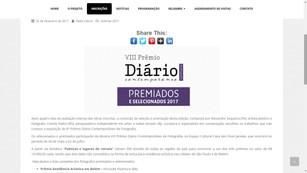 2017 Prêmio Diário Contemporâneo.