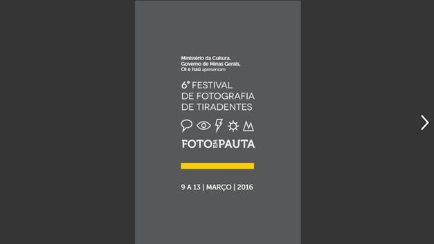 2016 Festival de Tiradentes.
