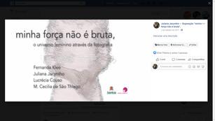 2017 Minha Força Não É Bruta (Página do Evento).