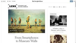 2015 #MobilePhotoNow (The New York Times), EUA.