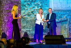 Premiazione con il campanile d'argento ad Andrea Scanzi