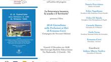 """Presentazione del libro """"60 di Giornalismo nelle prefazioni ai libri di Ermanno Corsi"""" – Compagnia d"""