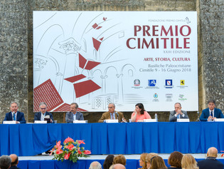 Il Giornalista di Rai 3 Riccardo Iacona alla serata inaugurale del Premio Cimitile