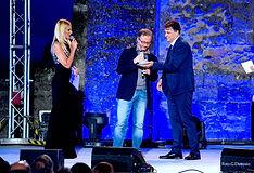 Premiazione con il campanile d'argento a Diego De Silva