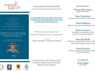 """Presentazione del volume """"Il Mediterraneo fra tarda antichità e medioevo: integrazione di culture, i"""