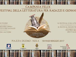 """Nasce """"Campania Felix. Festival della letteratura per ragazzi e giovani"""""""