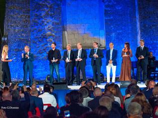 """Premio Cimitile 2017, conclusa la XXII Edizione. Consegnati i """"Campanili d'argento"""". Medaglia del Pr"""