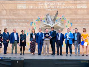 Assegnato a Nola il CAMPANIA FELIX LETTERATURA FESTIVAL 2018. Straordinario successo per la seconda