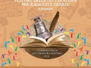 """""""Campania Felix. Festival della Letteratura per ragazzi e giovani"""": dal 17 al 19 maggio 1200 student"""
