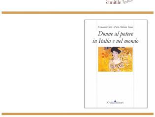 """Presentazione del libro """"Donne al potere in Italia e nel Mondo""""  di Ermanno Corsi e Piero Antonio To"""