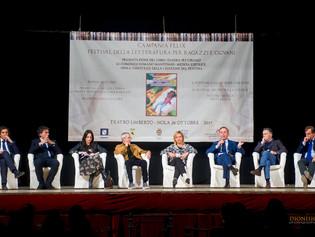 Una platea di oltre 700 ragazzi ha accolto il vincitore della I edizione del Festival della letterat