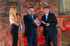 Premiazione con il campanile d'argento a Marco Aimone
