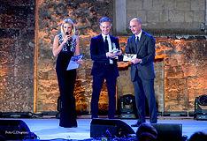 Premiazione con il campanile d'argento ad Alessandro Orsini