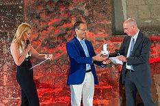 Premiazione con il campanile d'argento a Vito Mancuso