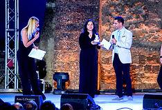 Premiazione con il campanile d'argento a Letizia Sotira