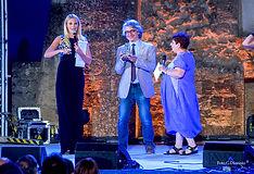 Premiazione con il campanile d'argento a Bruno Luverà