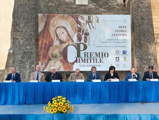 Il Giornalista del TG1 Francesco Giorgino alla serata inaugurale della XXII edizione del Premio Cimi