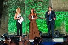 Premiazione con il campanile d'argento a Tiziana Panella