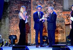 Premiazione con il campanile d'argento a Gaetano Manfredi