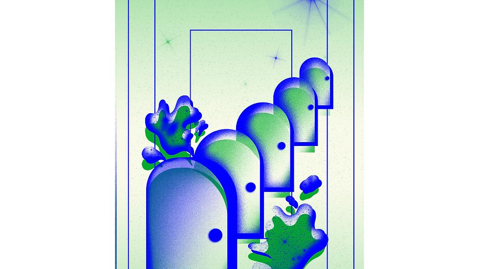 11x14 Fantasy Print