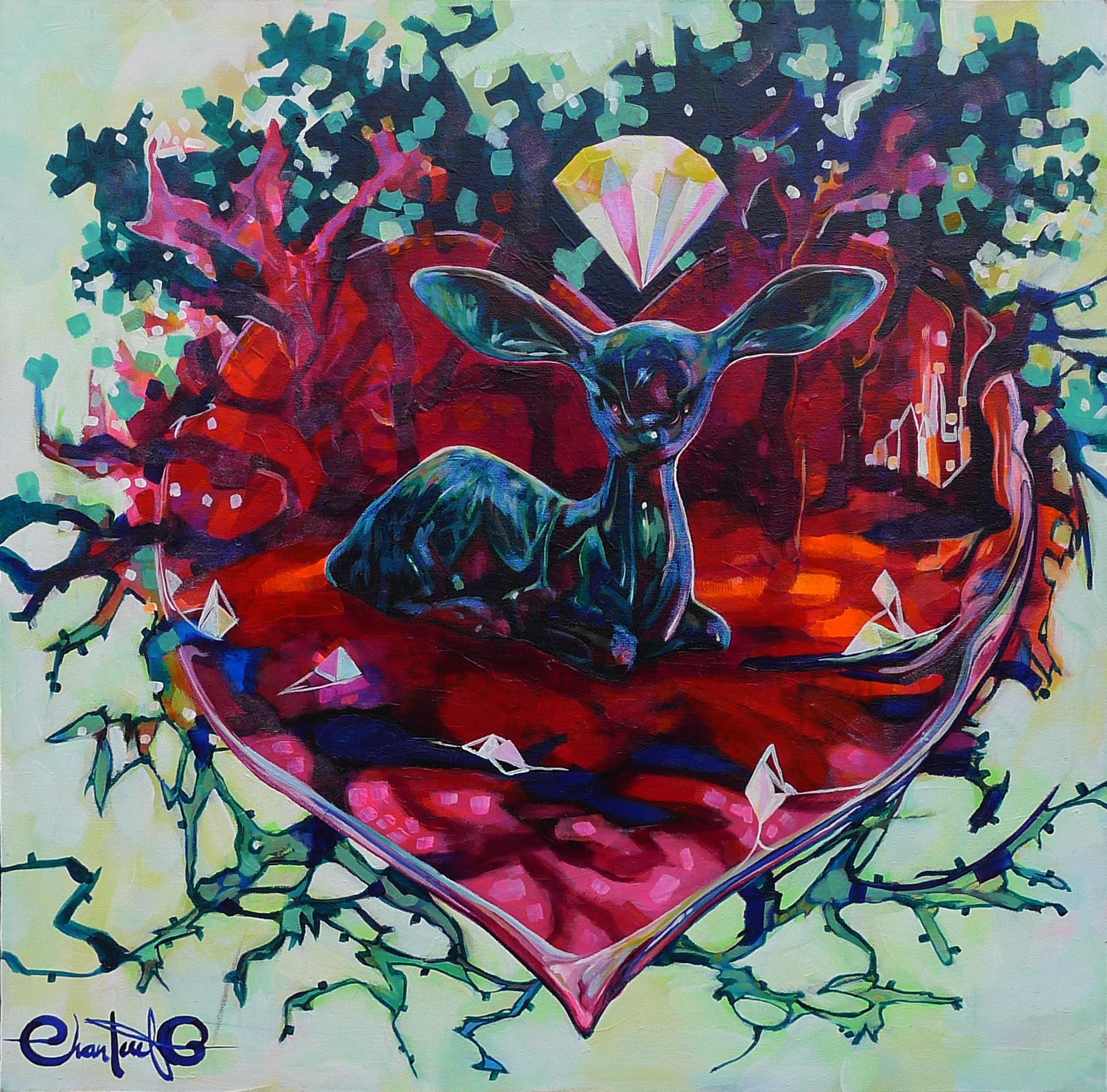 Le coeur de la foret