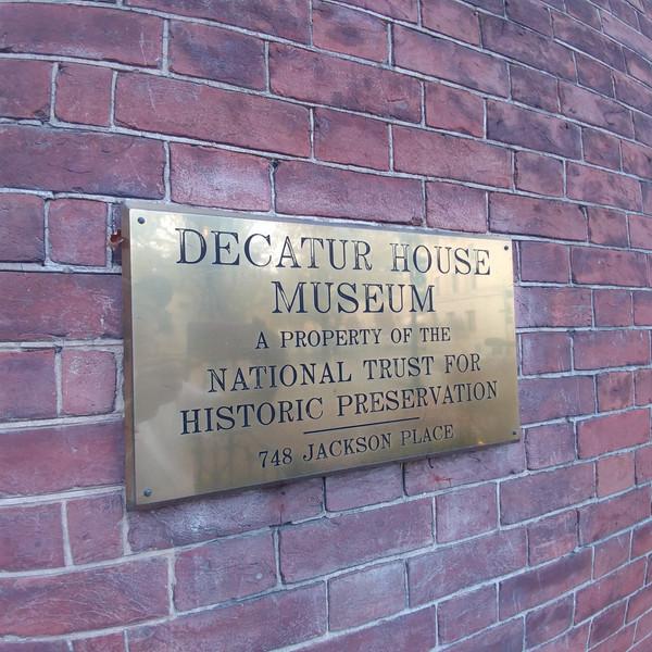 DECATUR HOUSE MUSEUM