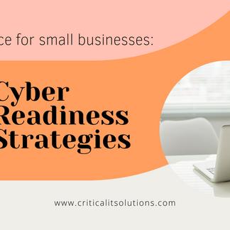 12 Cyber Readiness Strategies