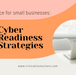 12 Cyber Readiness Strategies