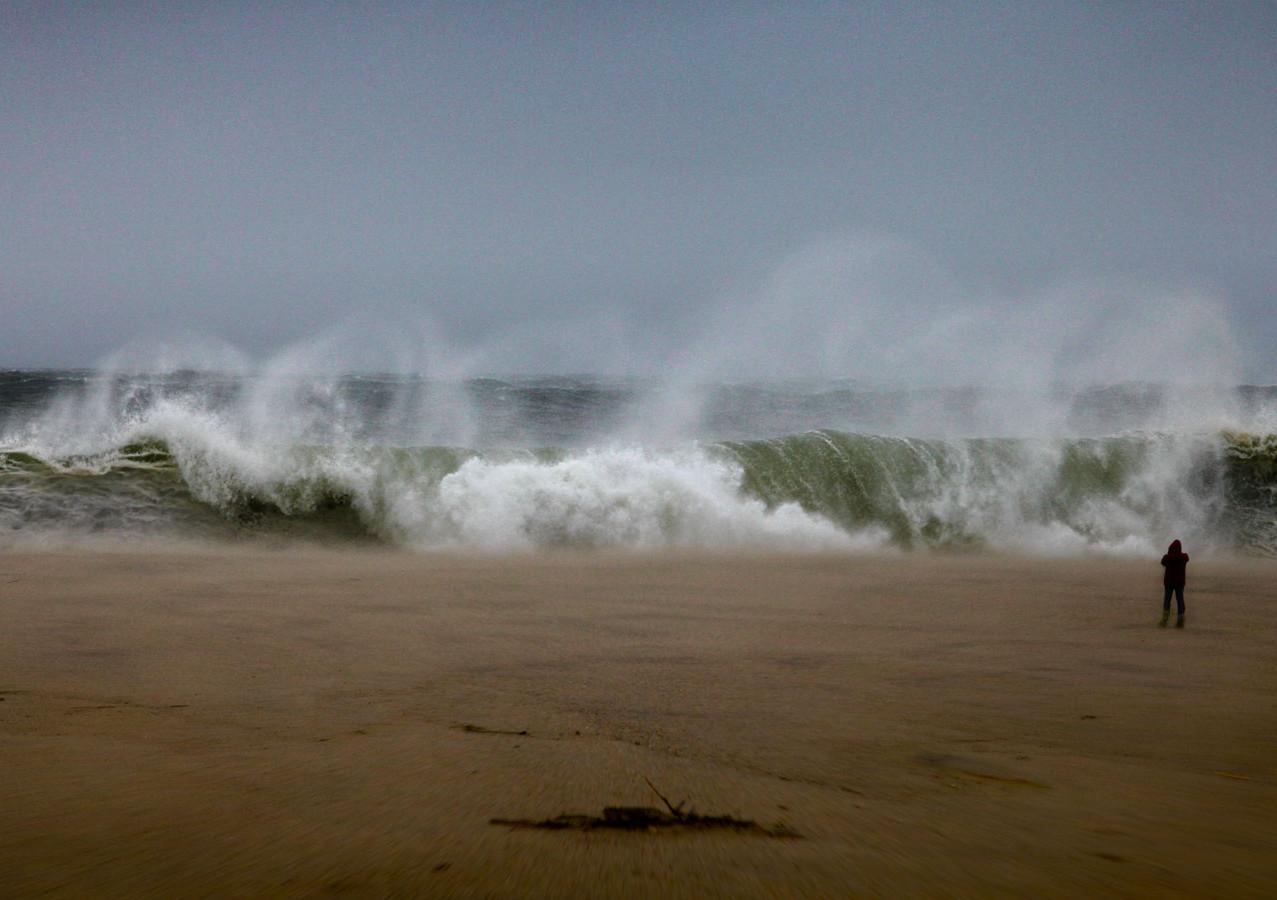 Hurricane Sandy on Miacomet