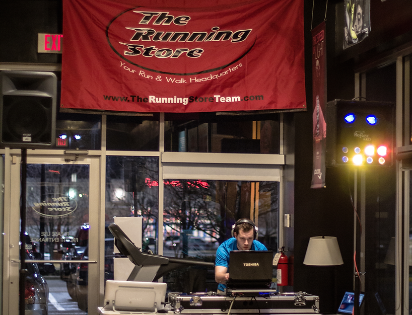 Sumosounds Corporate DJ for The Running Store