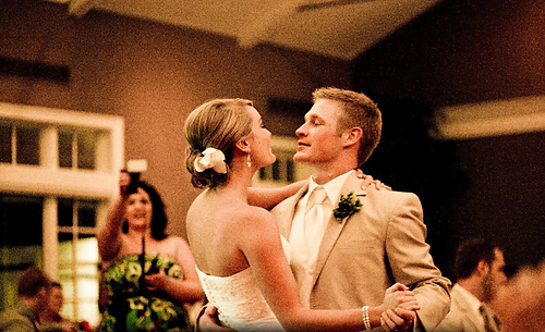 bride and groom dancing at one of our top 5 weddings to dj
