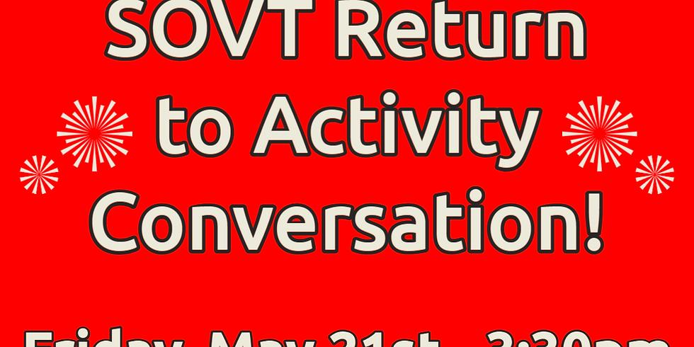 Friday Fun Series - Return to Activities Conversation!