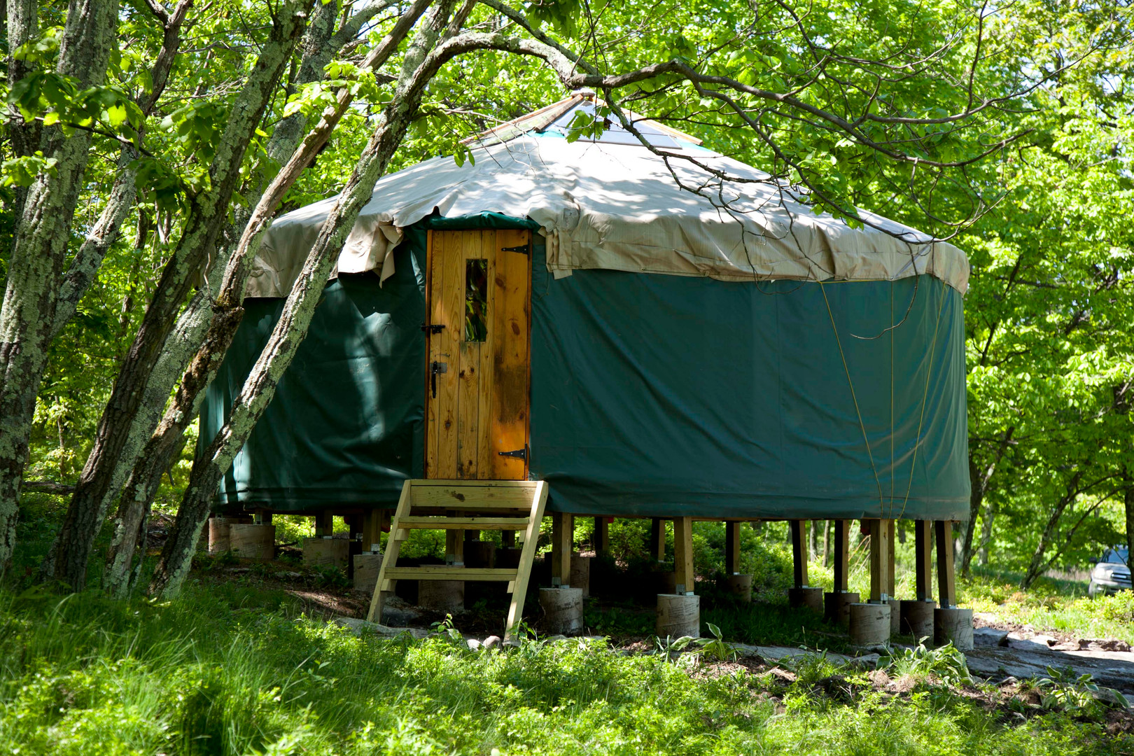 20' yurt north