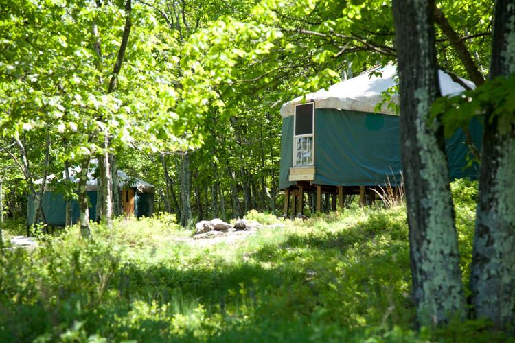 20' yurt north
