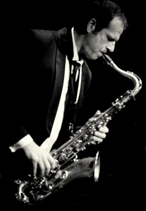Alfredo Carlavilla saxofonista en Toledo