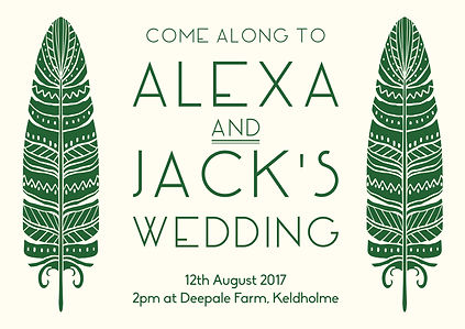 Alexa and Jack's Invites