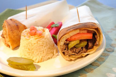 Beef Shawrma Sandwich