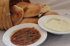 Garlic & Salsa with Bread