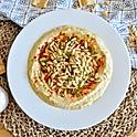 Hummus with Pine-nuts