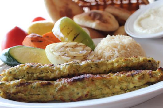 Chicken Kafta with Rice