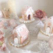 ヘクセンハウスクッキー🏡☃️💗_._全て食べられる材料で作った_お菓子のお家