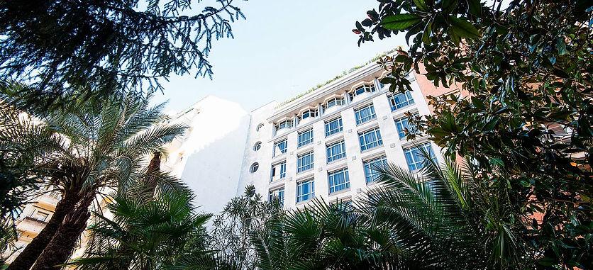 Sede UC3M Puerta de Toledo donde se celebra el XLI Congreso de las Sociedad Ibérica de Biomecánica y Biomateriales 2018 en Madrid España
