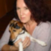 Juta Palasch Pastellblicke Tierportraits, Künstlerin