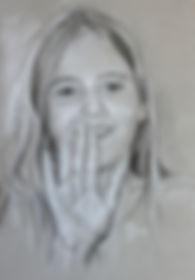 Portrait Personen, Portraitzeichnung, Kinderportrait, Portraitauftrag