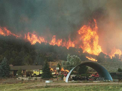 catastropic fire