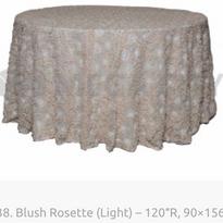 38. Blush Rosette (Light) – 120″R, 90×15