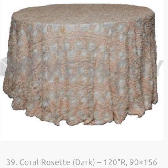 39. Coral Rosette (Dark) – 120″R, 90×156