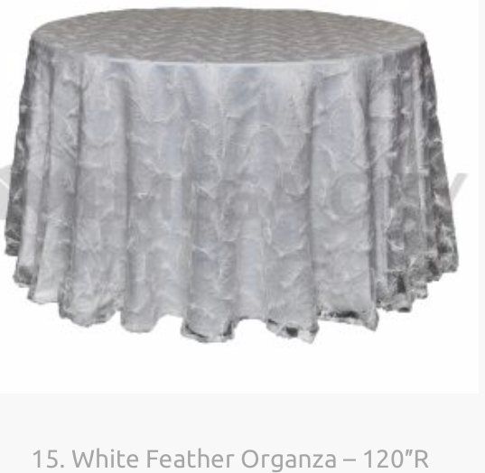 15. White Feather Organza – 120″R.png