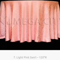 7. Light Pink Swirl – 120″R