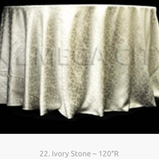 22. Ivory Stone – 120″R